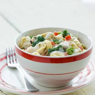 Cold Tortellini Chicken Salad.