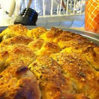 Cheesy Italian Pull Apart Bread.