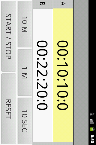 Kitchen Timer Double- screenshot