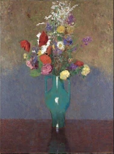 The Green Vase Le Vase Vert Odilon Redon Google Arts Culture