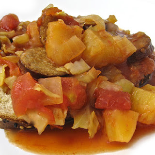 Crock-Pot, Sweet and Sour Skinny Turkey Kielbasa Stew.