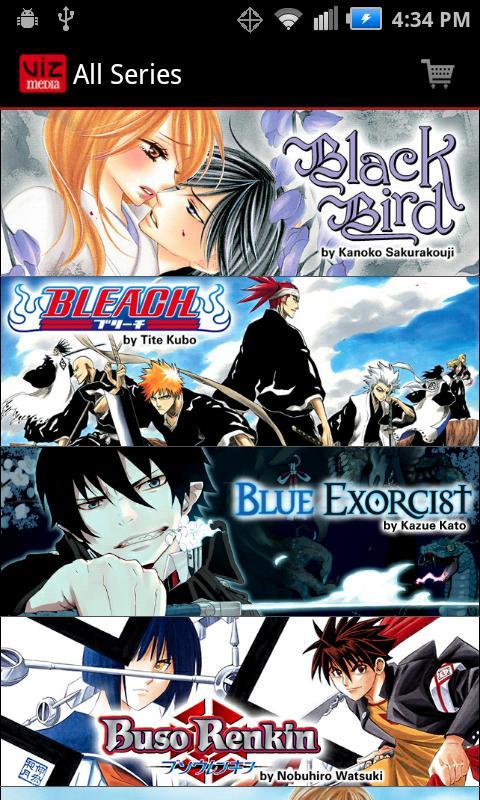 VIZ Manga- screenshot