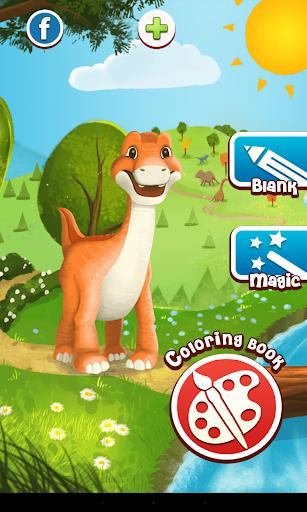 恐龍的顏色遊戲