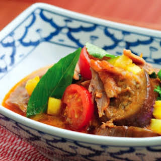 Pineapple Duck Curry.