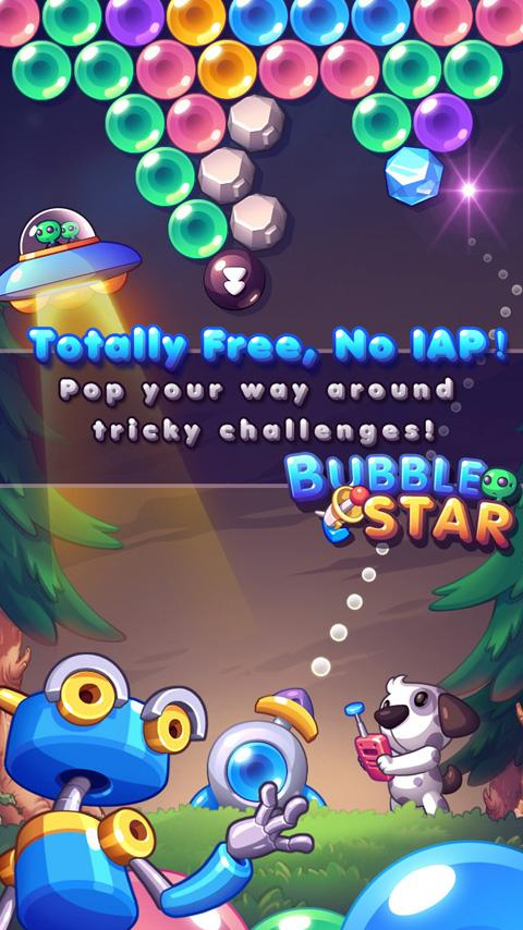 Bubble Star- screenshot