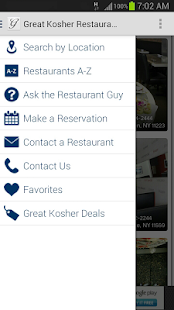Great Kosher Restaurants- screenshot thumbnail