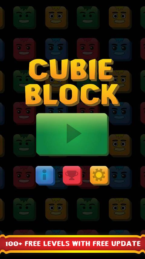 Cubie Block- screenshot