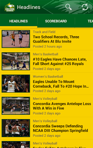 免費運動App|Concordia University Eagles|阿達玩APP