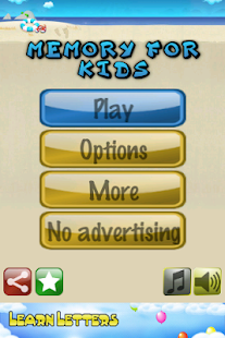 Memory for kids Free - screenshot thumbnail