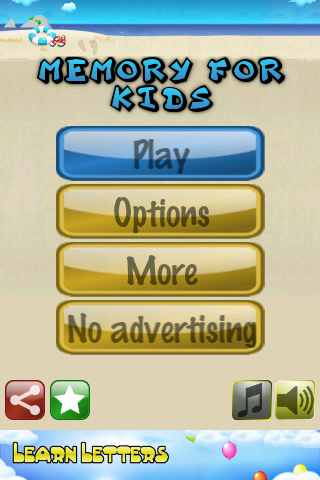 Memory for kids Free - screenshot