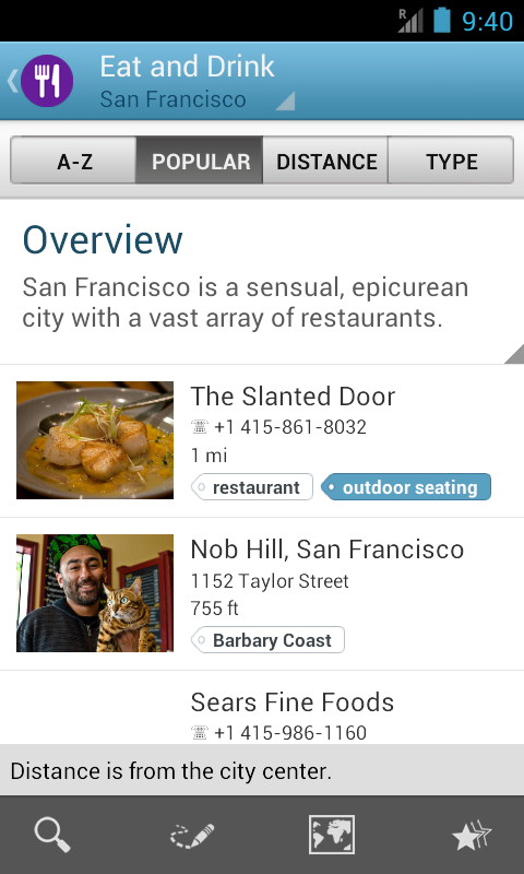 San Francisco Travel Guide- screenshot