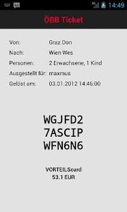 ScotDroid ÖBB Fahrschein Lite - screenshot thumbnail