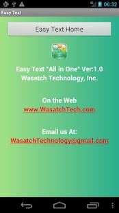 EasyText All-In-One! SMS- screenshot thumbnail