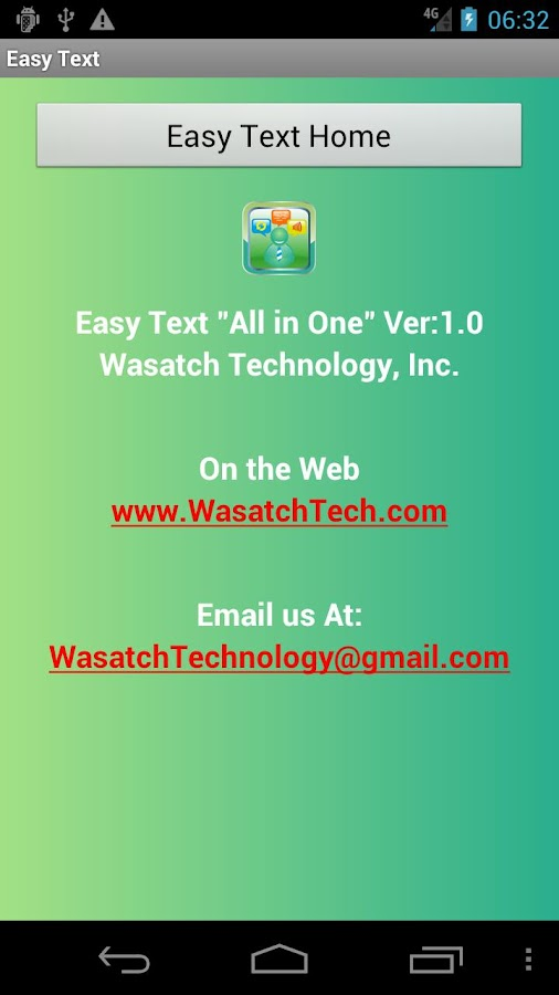 EasyText All-In-One! SMS- screenshot