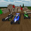 skatepark rc racing cars 3D icon