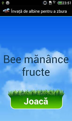 Ajutor Bee Mănânce Fructe