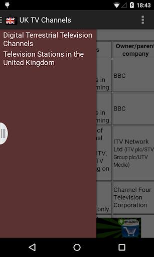 United Kingdom TV Channels