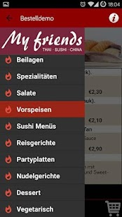 Myfriends Lieferservice Berlin- screenshot thumbnail