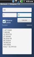 Screenshot of Metodos Numericos