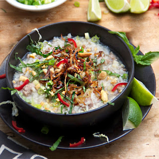 PORK & RICE SOUP from CAMBODIA
