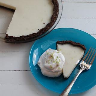 Coconut-Lime Icebox Pie