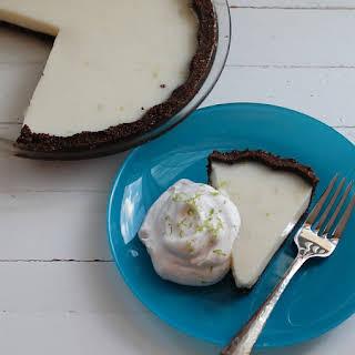 Coconut-Lime Icebox Pie.