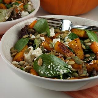 Maple- Roasted Pumpkin Salad.
