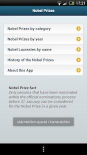Nobel Prizes- screenshot thumbnail