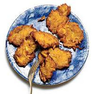 """Plantain """"Spider"""" Fritters."""