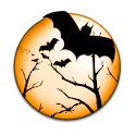 Halloween Bat Clock icon