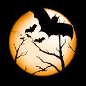 Halloween Bat Clock