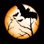 Halloween Bat Clock icon
