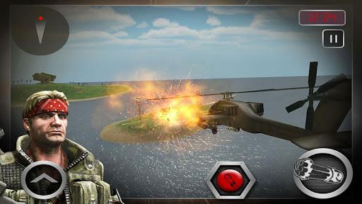 海軍直升機武裝直升機戰爭 3D