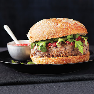 Almond, Bean & Grain Burgers