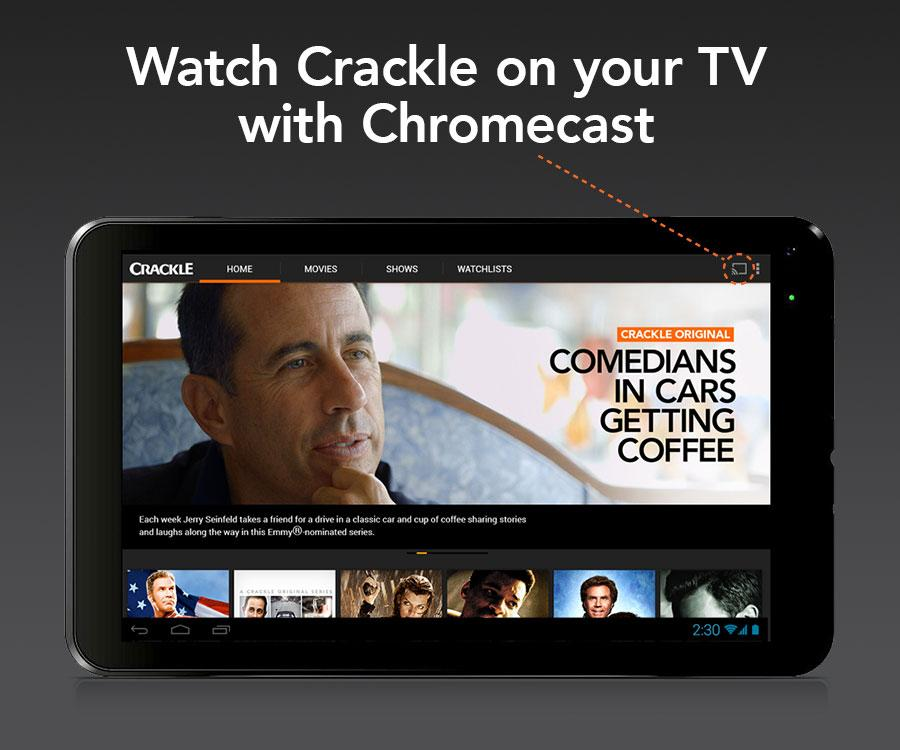 Crackle - Movies & TV - screenshot