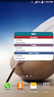 Screenshot of Bills - Expense Monitor Remind