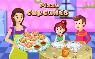 Screenshot of Pizza Cupcakes
