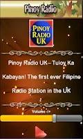 Screenshot of Pinoy Radio UK