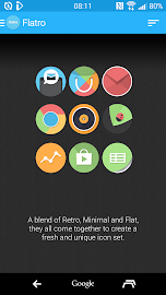 Flatro - Icon Pack Screenshot 3