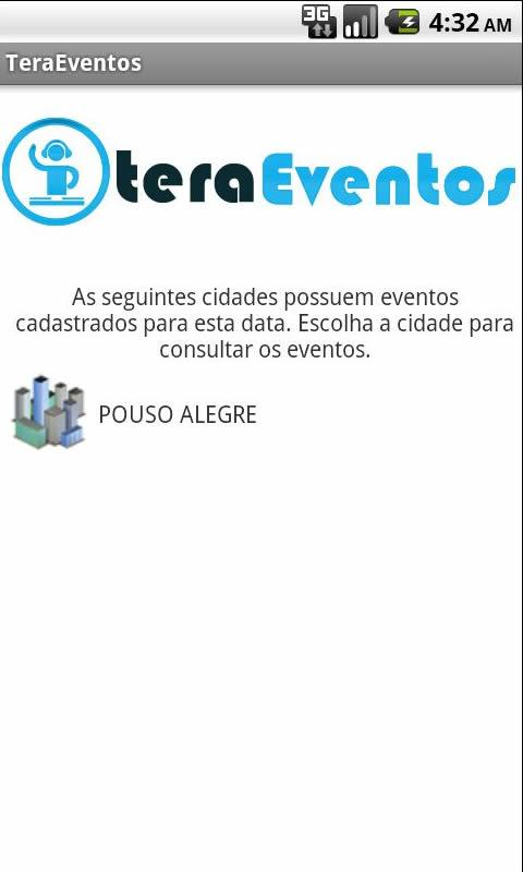 Tera Eventos- screenshot