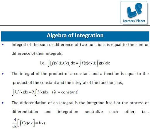 JEE-Indefinite Integration