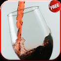 A glass of wine Live Wallpaper icon