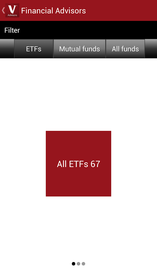 Vanguard for Advisors - screenshot