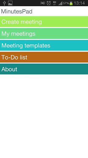 MinutesPad