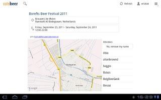 Screenshot of RateBeer