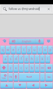 Cotton Candy GO Keyboard Theme- screenshot thumbnail
