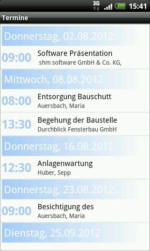 shm ToGo- screenshot