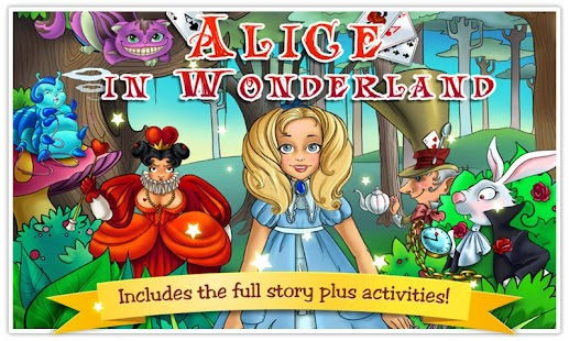 Alice in Wonderland Kids Book - screenshot thumbnail