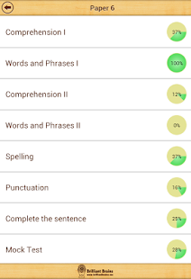 SSAT English Comprehension LE- screenshot thumbnail