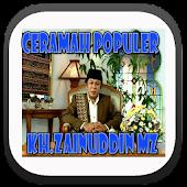 Ceramah Islam KH Zainuddin MZ